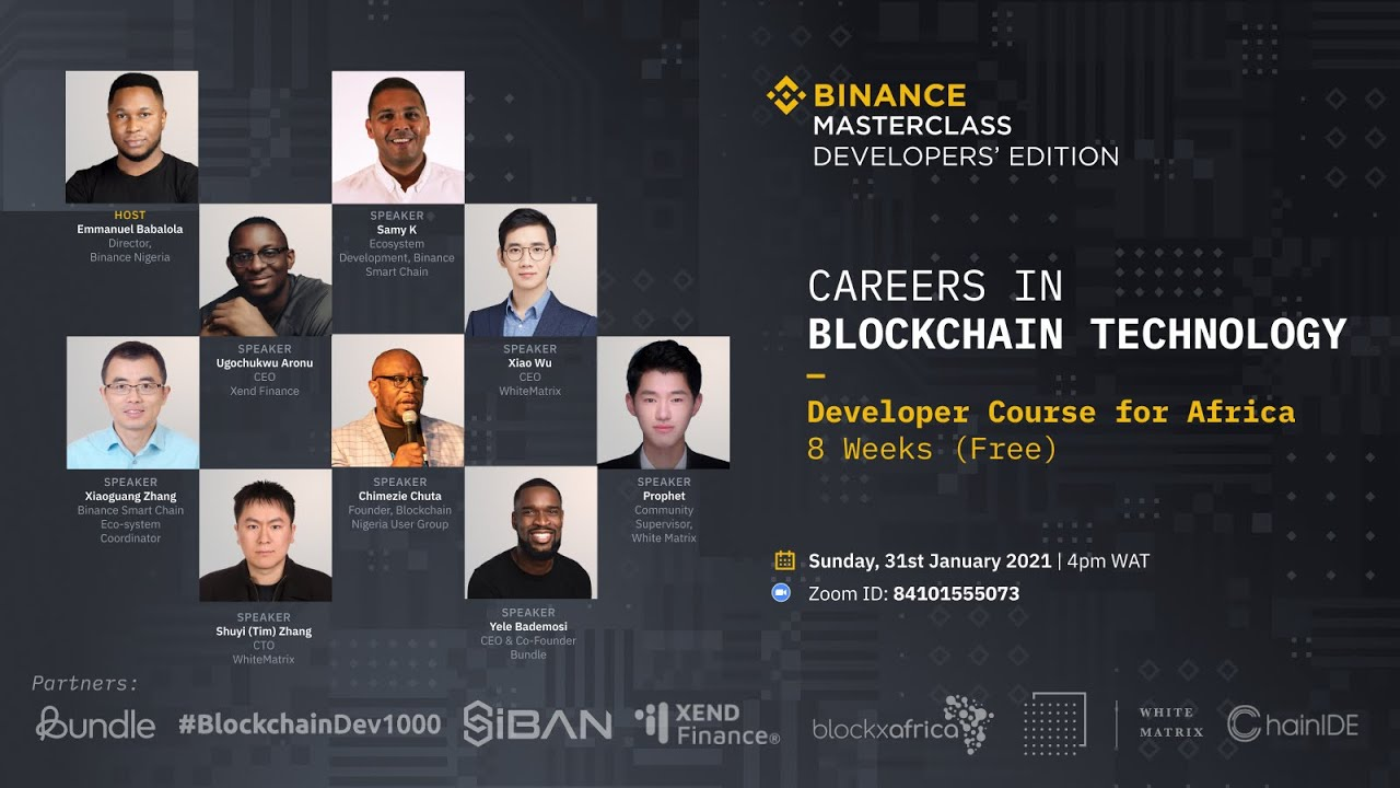 Careers in Blockchain- 8 Weeks Program.