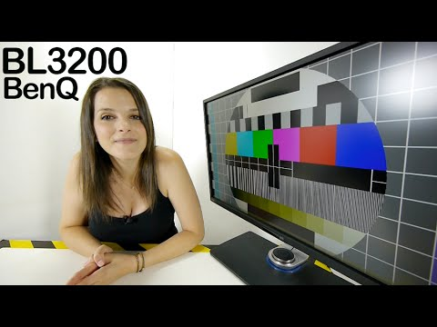 BenQ monitor BL3200PT 2K review videorama