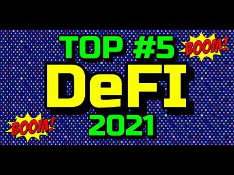 """🔥Top #5 😱Proyectos """"DeFI"""" este 2021 !!!"""