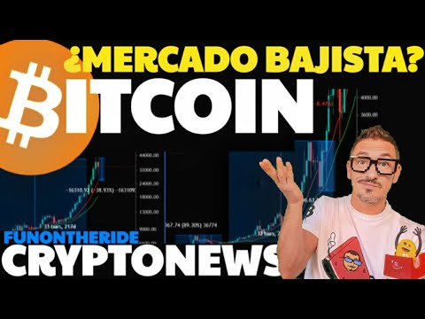 ¿ESTAMOS en un MERCADO BAJISTA?  CRYPTO NEWS BITCOIN