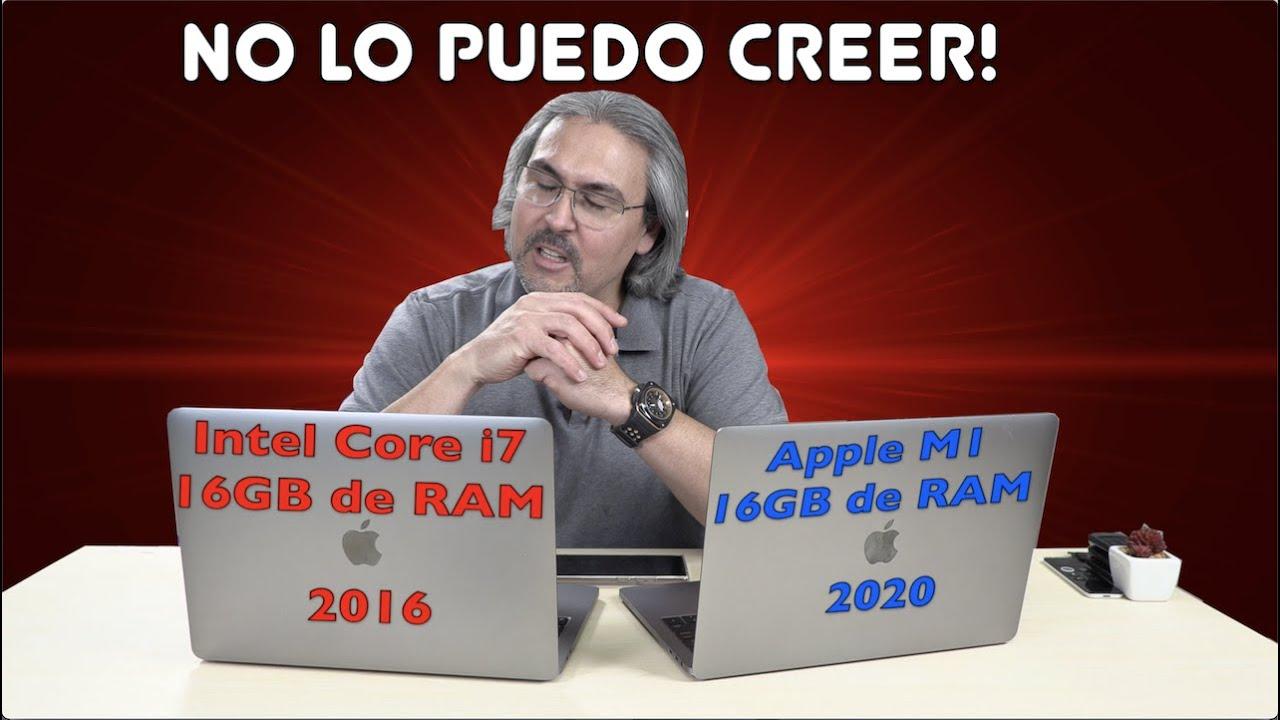 Esto no es posible Macbook Pro 2016 vs Macbook Pro 2020 Apple M1