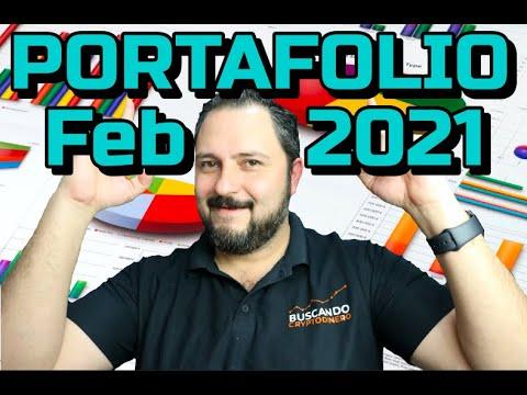 PORTAFOLIO Febrero 2021 !!!  ⬆️ 51% !!! 🟢 Buen Mes