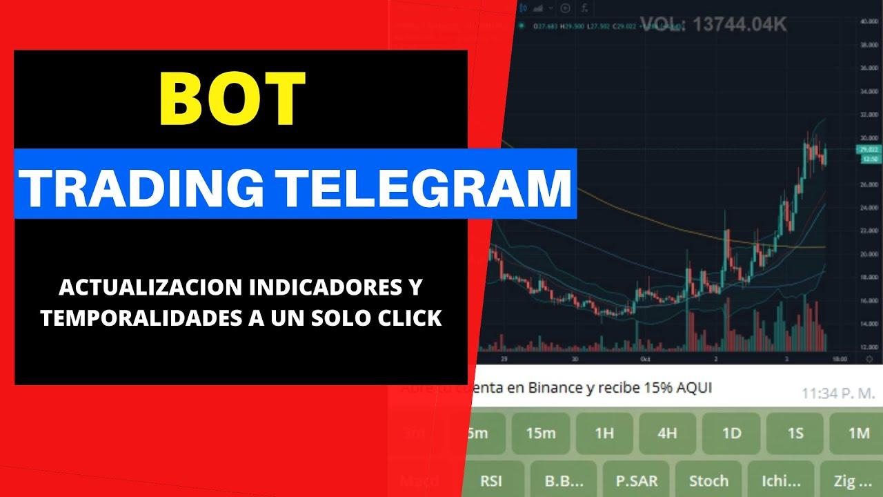 🤖 Bot para TRADING en activos digitales en Telegram  🤖[Indicadores tecnicos a un solo click]