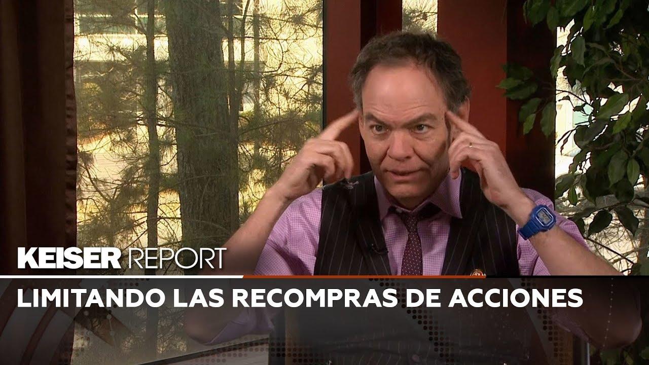 Keiser Report en Español: Limitando las recompras de acciones (E1345)