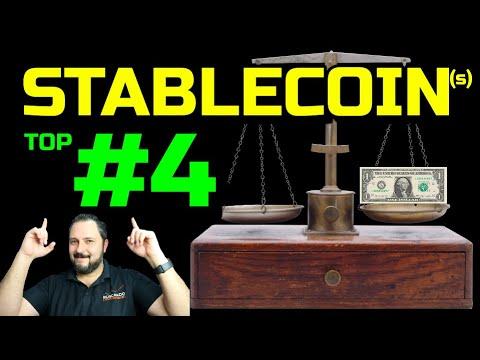 🔐 Cual es la MEJOR 🥇 STABLECOIN ?? #TOP 4️⃣ monedas estables