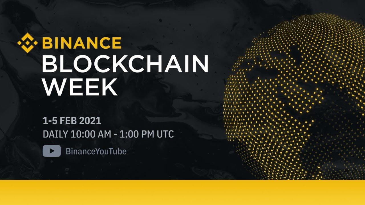 #Binance Blockchain Week – Building The Future – Day 1
