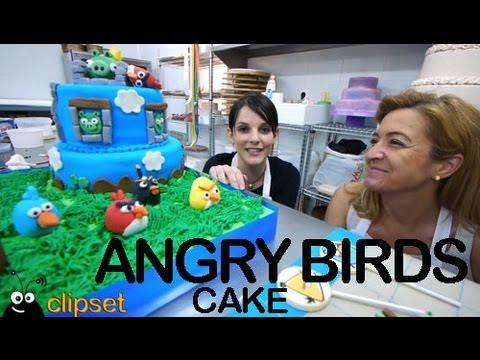 Tarta Cake Angry Birds #Videorama con Keyks