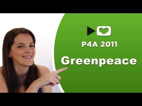 Clipset con Greenpeace #P4A2011 Project For Awesome
