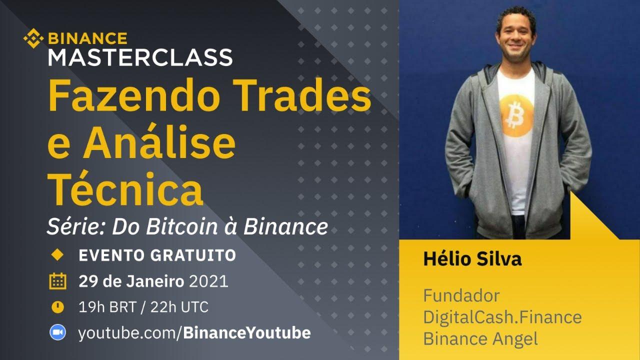 Fazendo Trades e Análise Técnica – Binance Masterclass: Do Bitcoin à Binance
