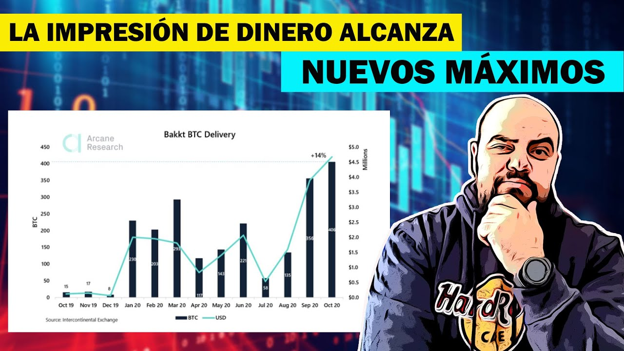 ¡LA MANIA POR BITCOIN SIGUE EN AUMENTO, VOLUMEN RECORD PODRÍA DISPARAR EL PRECIO- DAVID BATTAGLIA!