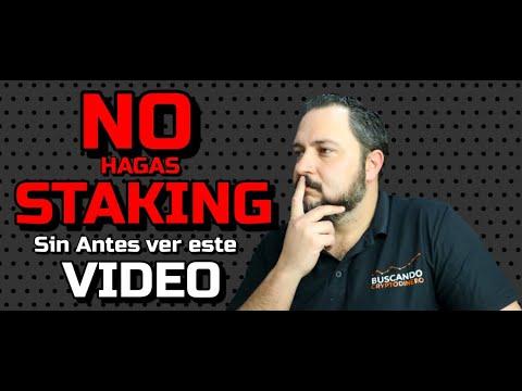 """⛔️ NO Hagas STAKING """"SIN antes VER 👀 este VIDEO"""" 🟢 5 puntos IMPORTANTES"""