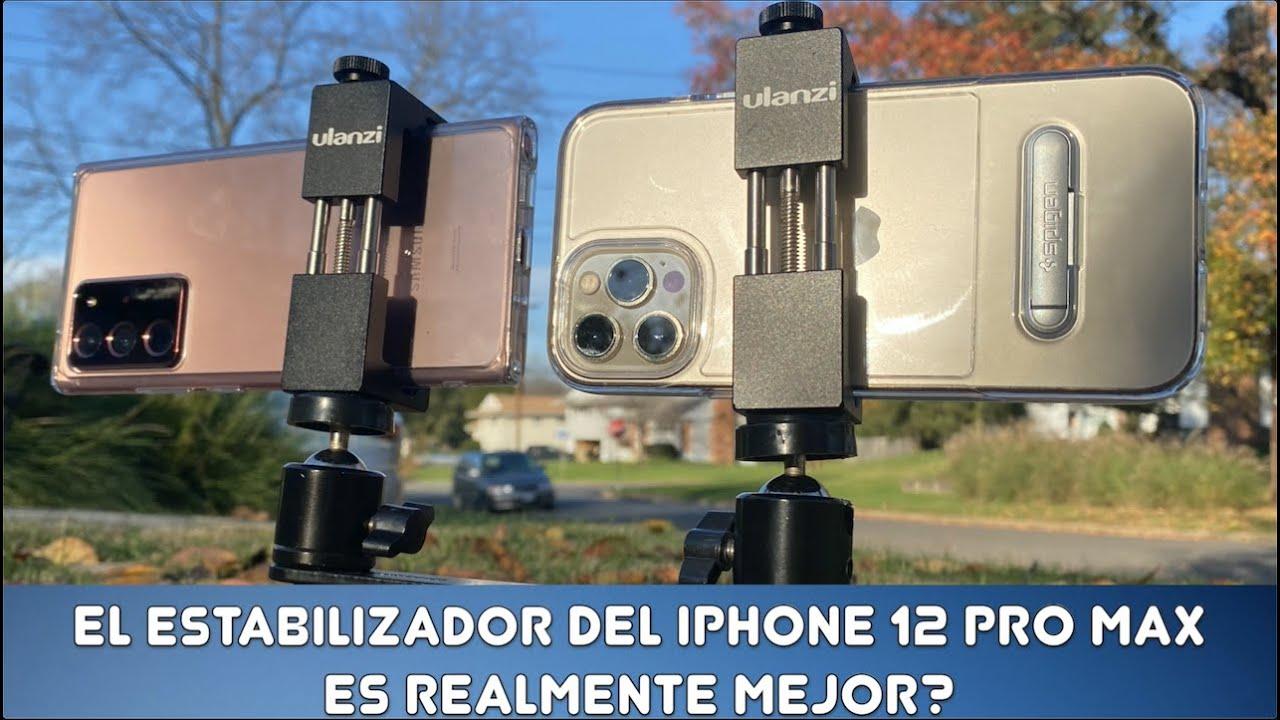 ES REALMENTE MEJOR EL ESTABILIZADOR EN EL IPHONE 12 PRO MAX?