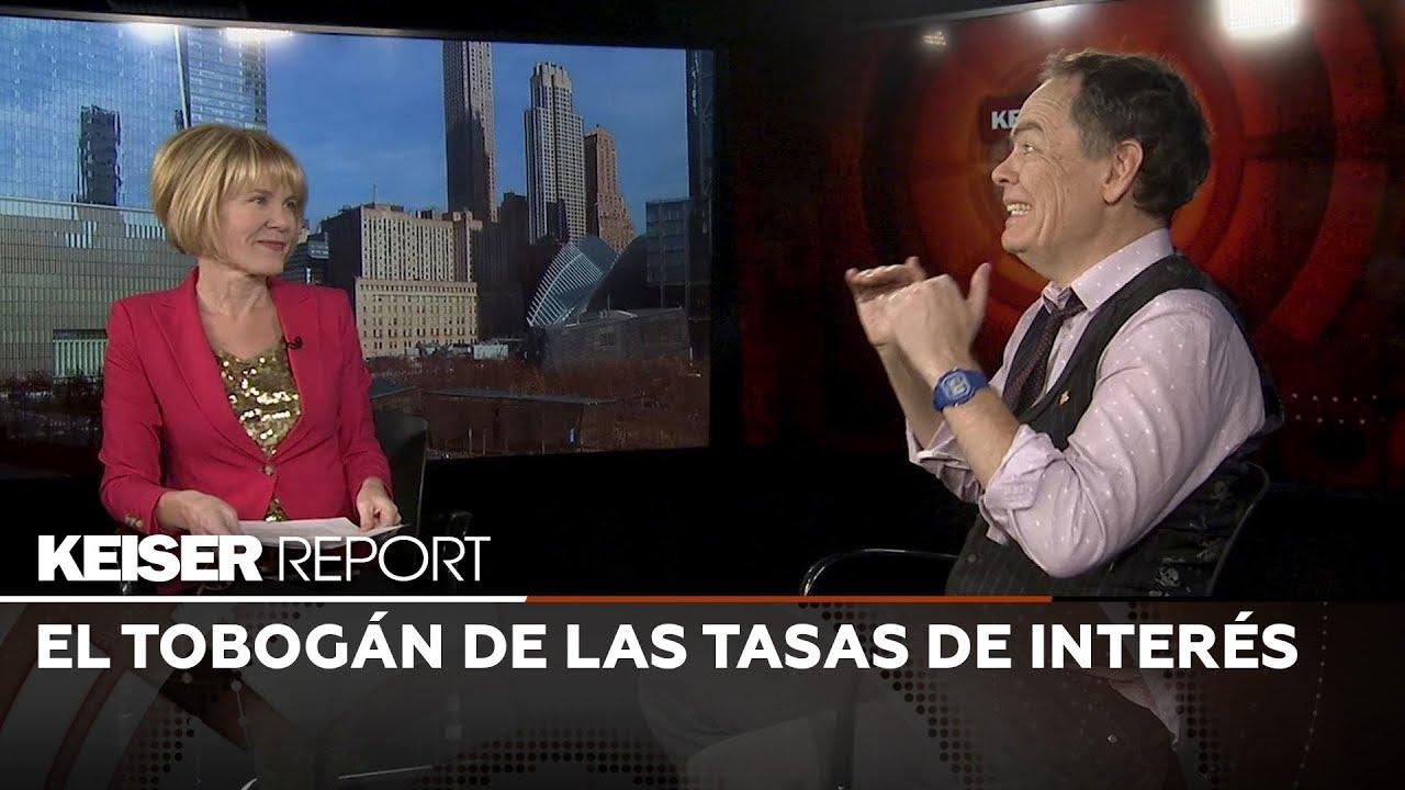 Keiser Report en Español: El tobogán de las tasas de interés (E1328)