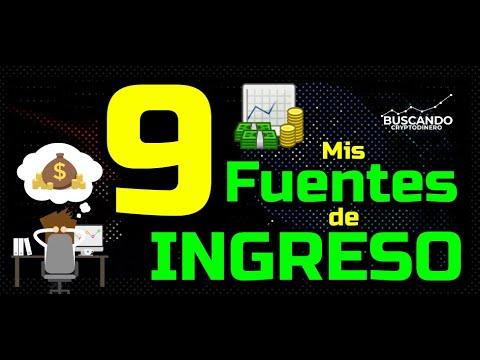 Mis 9 Fuentes de Ingreso Pasivo 💚 💪🏻!!!