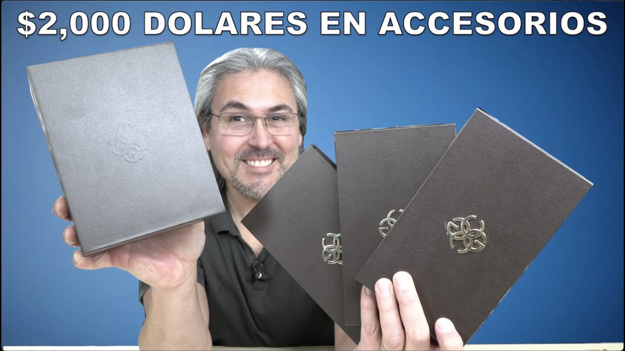 ME ENVIARON $2000 dólares en accesorios