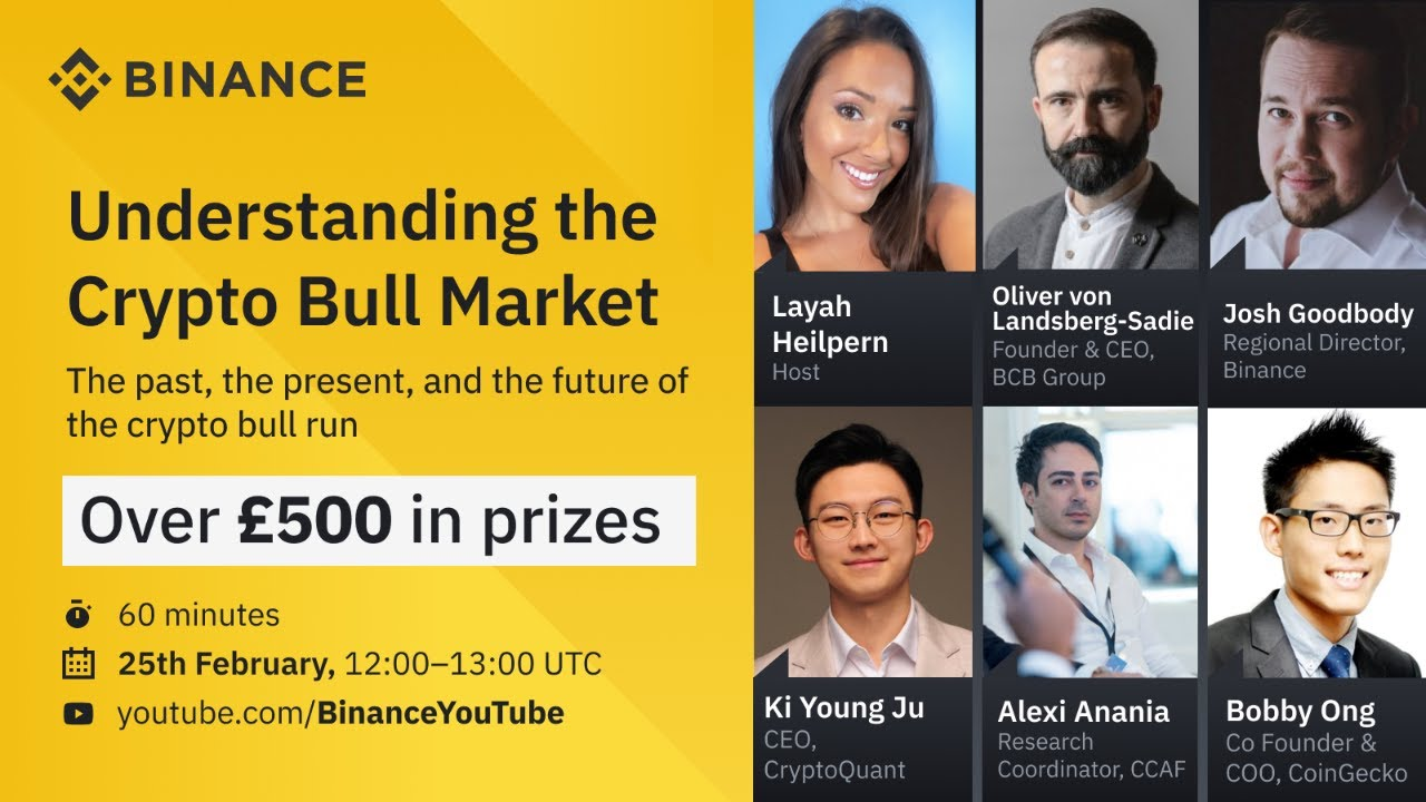 Binance Webinar: Understanding the Crypto Bull Market