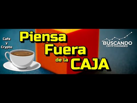 Piensa FUERA DE LA CAJA con Meny C. (Poker Pro): Cafe y Crypto