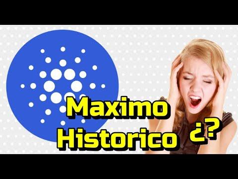 ✅ CARDANO (ADA) Nuevo Maximo hoy??