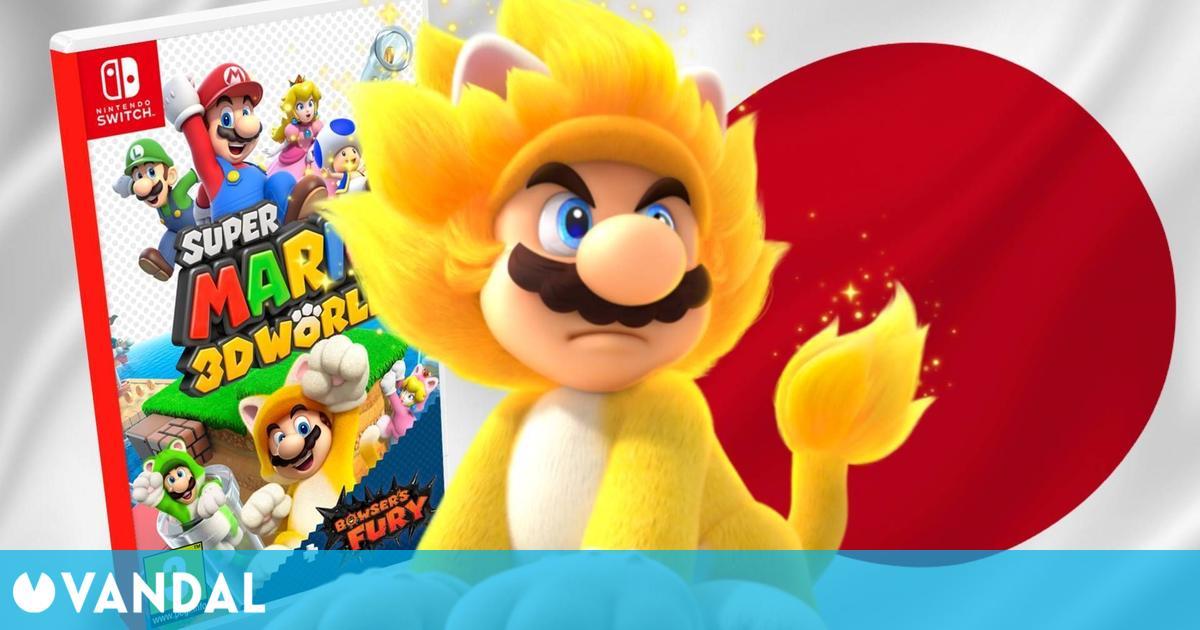 Super Mario 3D World + Bowser's Fury se estrena en Japón con más de 250.000 unidades vendidas