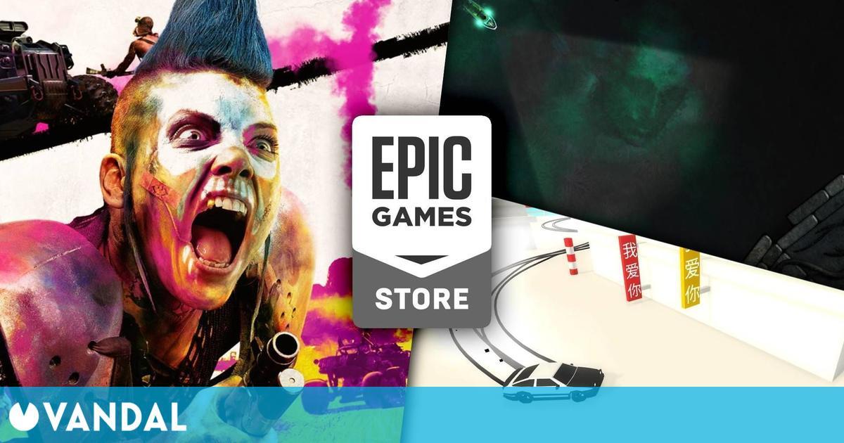 Rage 2 y Absolute Drift disponibles gratis en Epic Games Store; Sunless Sea la próxima semana