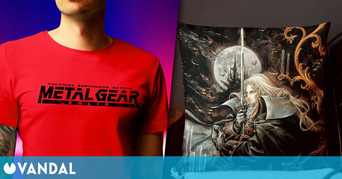 Konami abre su tienda online oficial, con envíos a España y el resto del mundo