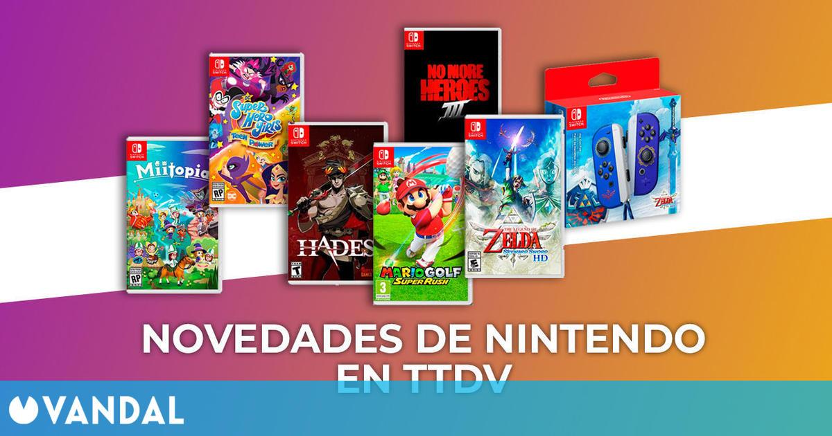 Las novedades del Nintendo Direct ya se pueden reservar en Tu Tienda de Videojuegos