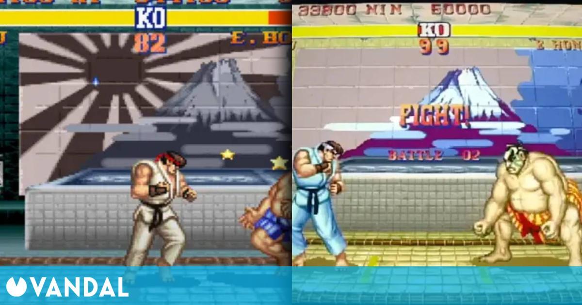 Eliminan la bandera japonesa del Sol Naciente en el Street Fighter 2 de Capcom Arcade Stadium