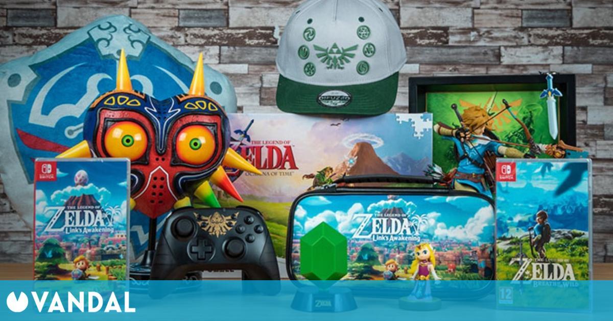 GAME celebra el 35 aniversario de The Legend of Zelda con productos y ofertas exclusivas