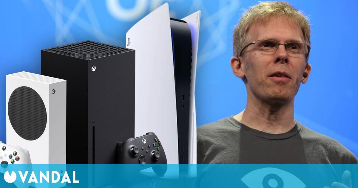 Carmack cree que Sony y Microsoft deberían vender PS5 y Xbox Series X/S sin intermediarios