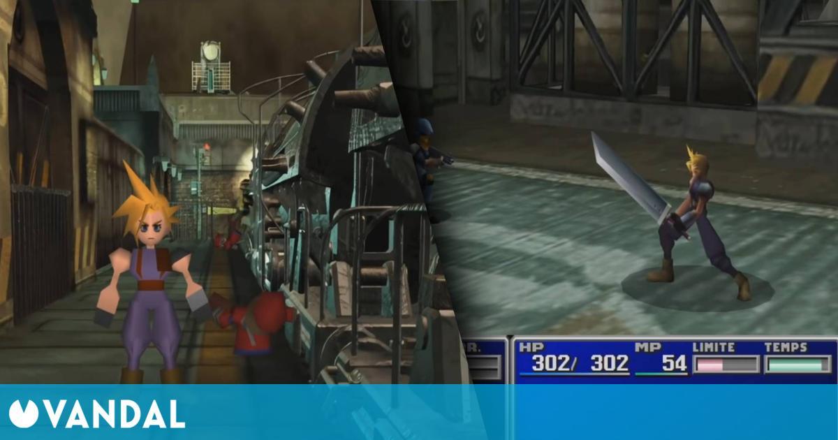 Final Fantasy 7 recibe gráficos HD gracias a un mod creado con inteligencia artificial