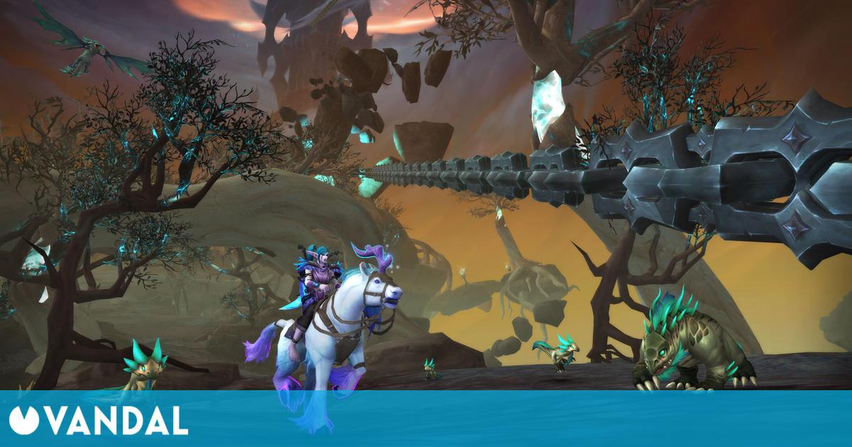 World of Warcraft Shadowlands: Su primer parche nos llevará a luchar contra Sylvanas