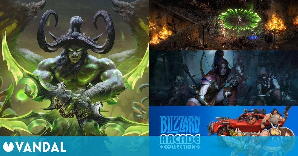 Resumen BlizzConline todos los anuncios: Diablo 2 Resurrected, WoW, Diablo 4, Overwatch 2…