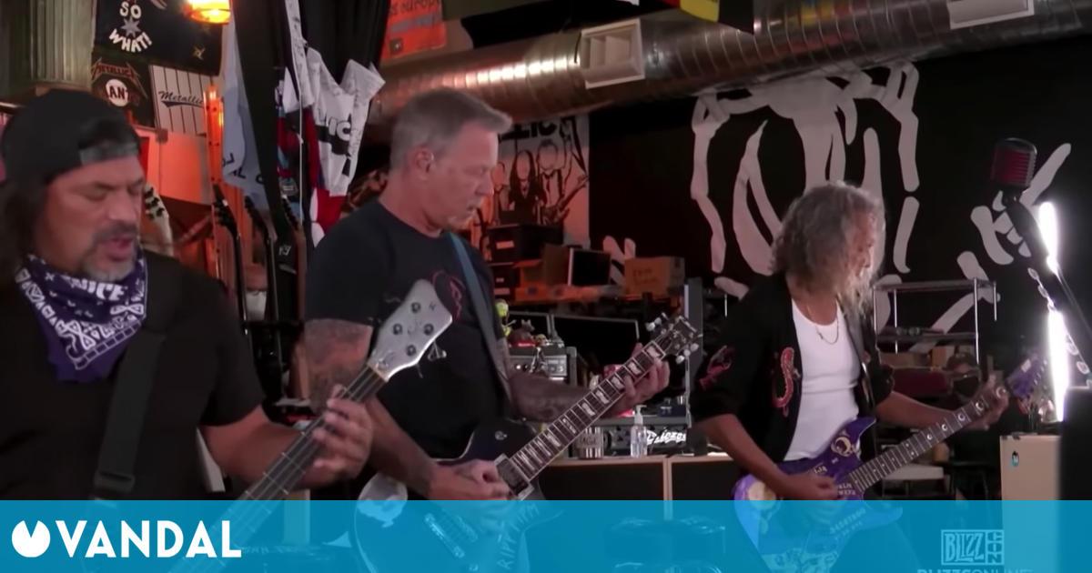 Twitch cambia la música de Metallica de la BlizzCon con hilarantes resultados