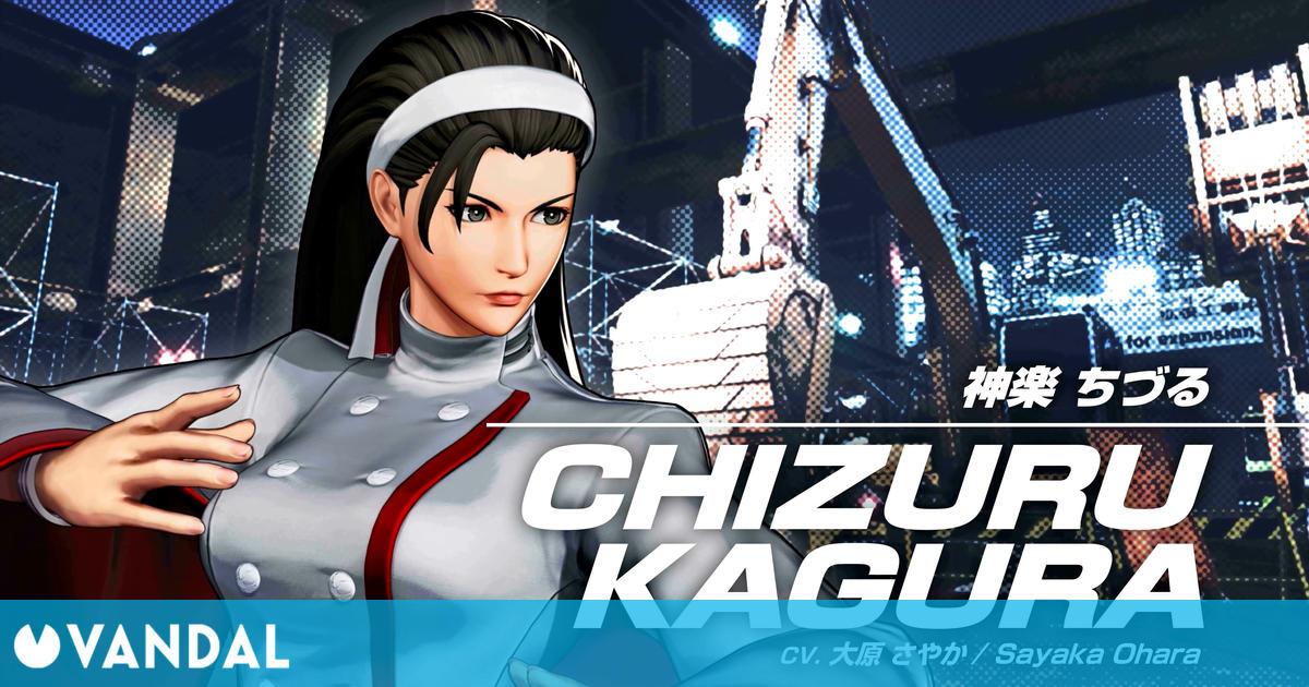 The King of Fighters 15 presenta a Chizuru Kagura con vídeo e imágenes