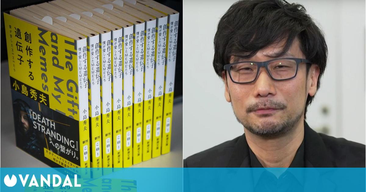 El libro de ensayos de Hideo Kojima se traducirá al inglés en octubre de 2021
