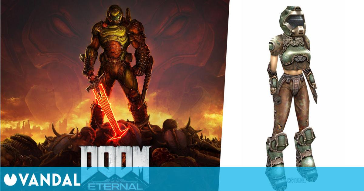 Doom Eternal: Su director pensó en añadir una protagonista con efectos en el gameplay