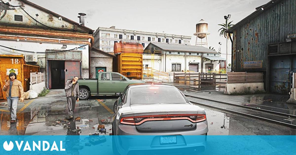 Así de espectacular se ve GTA 5 en PC con ray-tracing gracias a los mods
