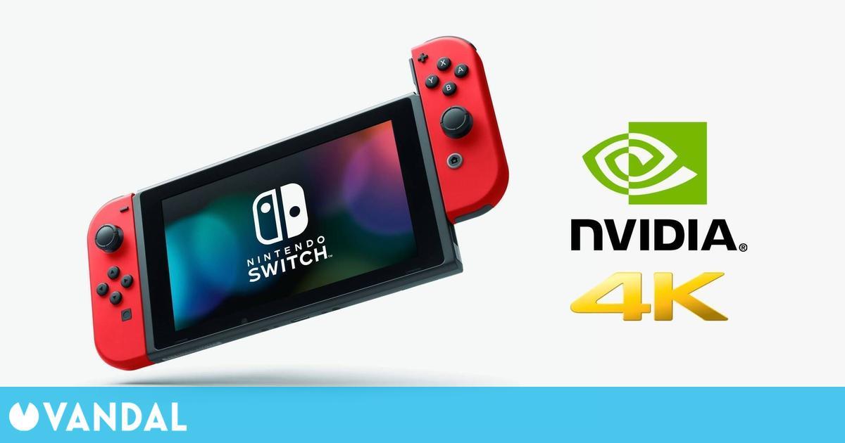 Switch Pro tendrá compatibilidad con el DLSS de Nvidia y resolución 4K, según un insider