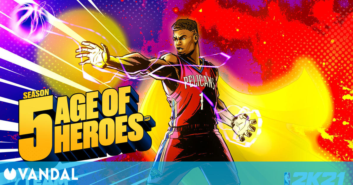 NBA 2K21: La Temporada 5 enfrenta a las estrellas de la Edad de Oro y la Edad Moderna
