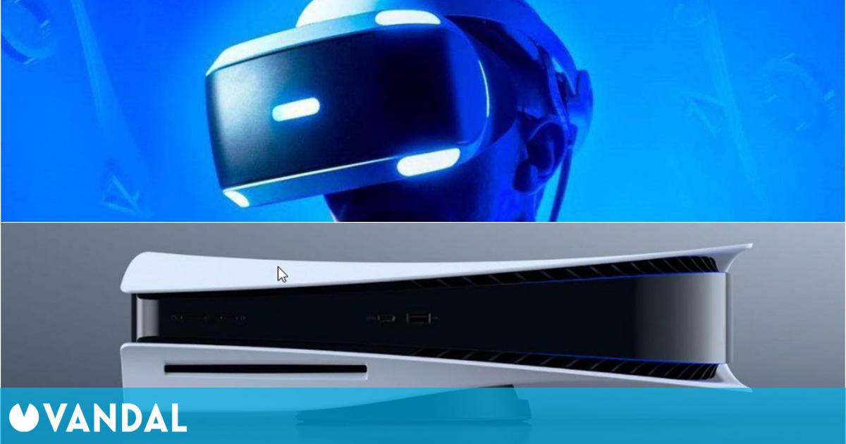 La nueva PSVR para PS5 ya es oficial: un solo cable y mandos con funciones del DualSense
