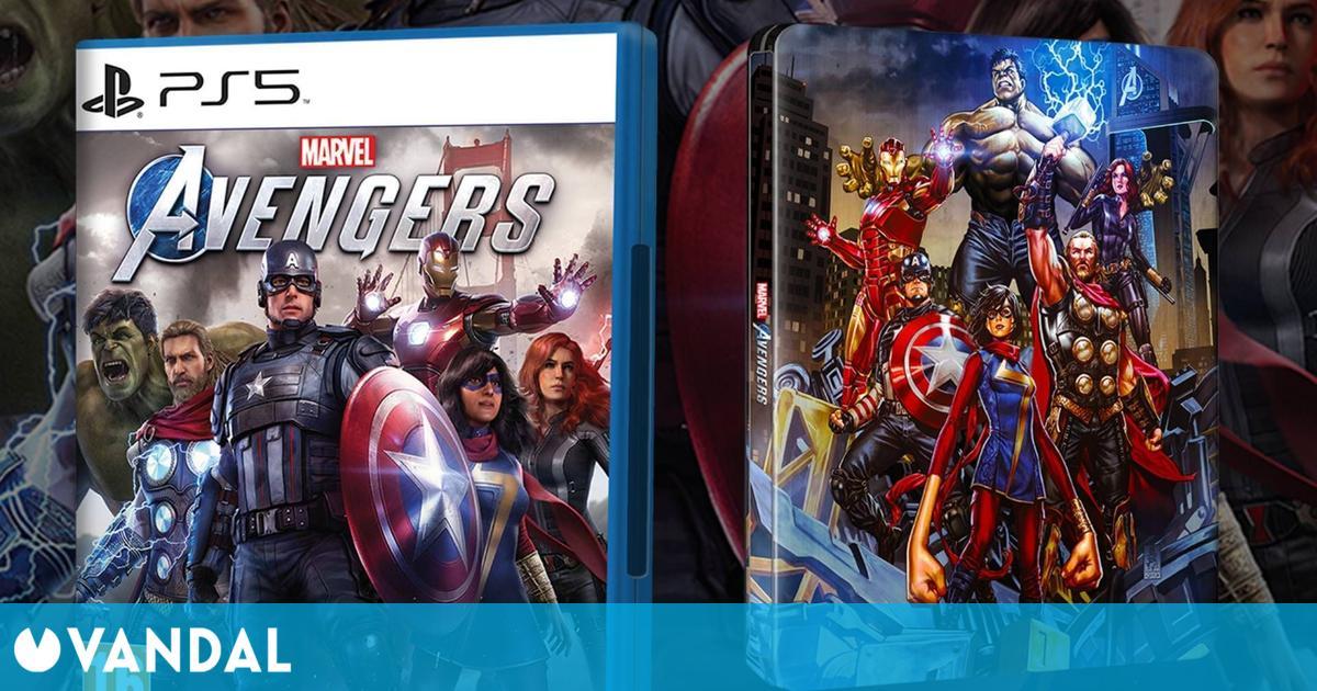 GAME regalará un steelbook exclusivo por la compra o reserva de Marvel's Avengers