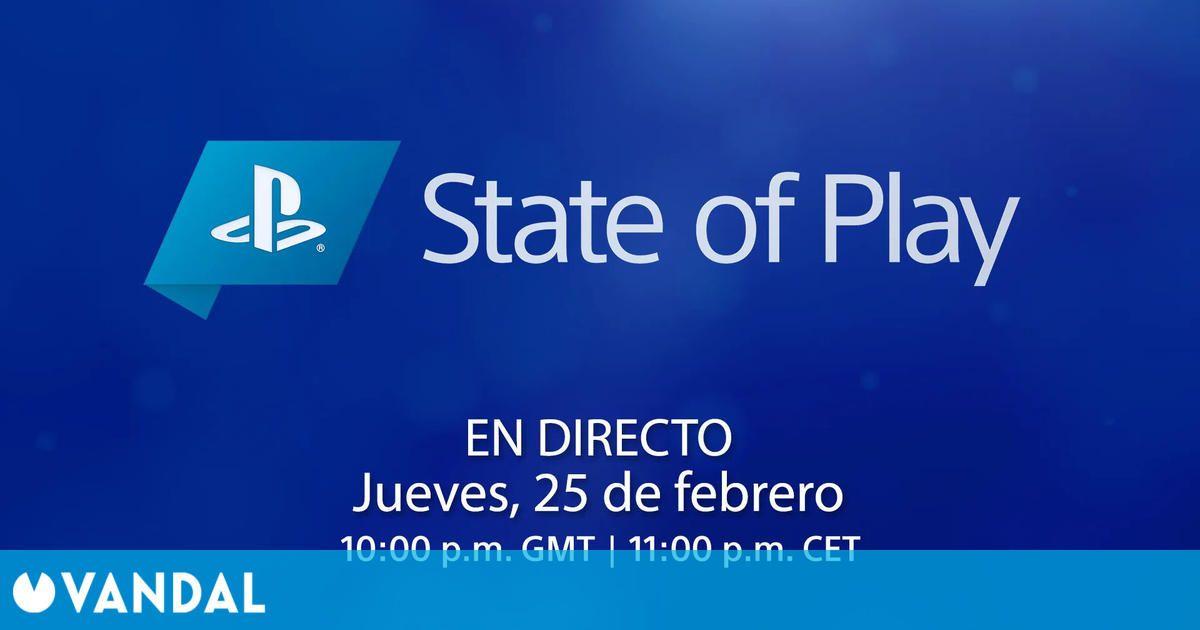 Sony anuncia nuevo State of Play para el jueves 25 a las 23:00 horas en España