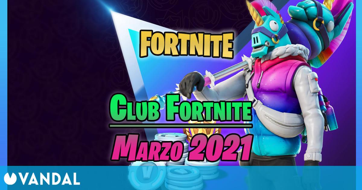 Fortnite: Skin de Llama-Bro y novedades del Club Fortnite en marzo 2021