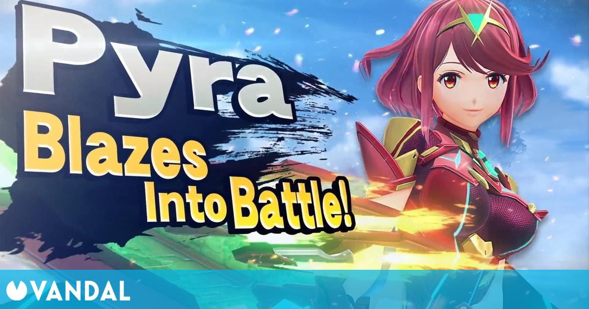 Super Smash Bros. Ultimate: Sakurai mostrará a Pyra y Mythra el 4 de marzo