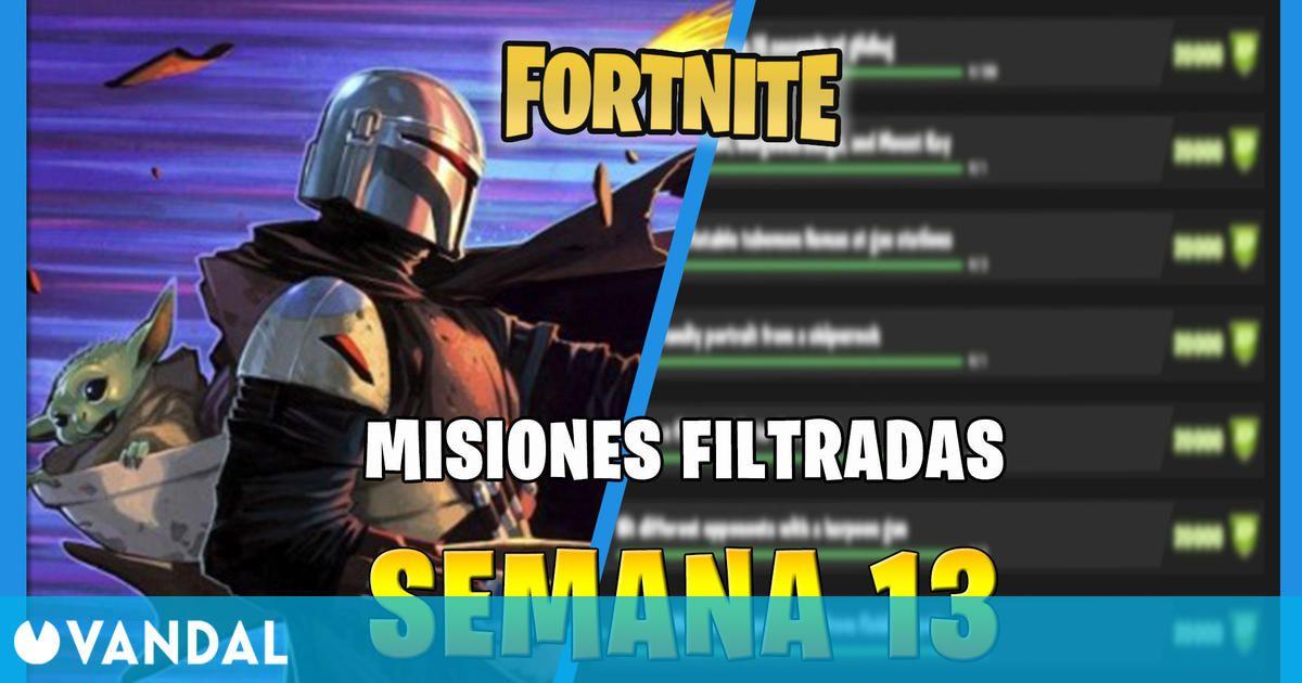 Fortnite: misiones y desafíos filtrados de la Semana 13