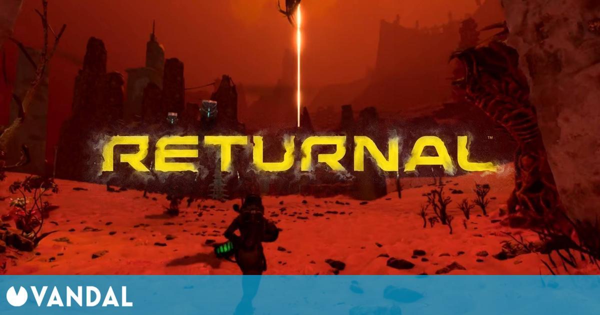 Returnal presenta Atropos, el planeta cambiante, en un nuevo tráiler en español