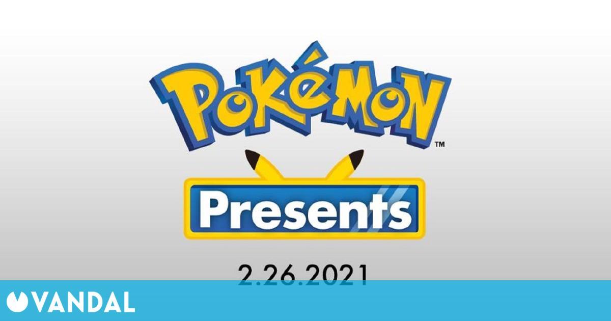 Anunciado un Pokémon Presents para mañana 26 de febrero a las 16:00h en España