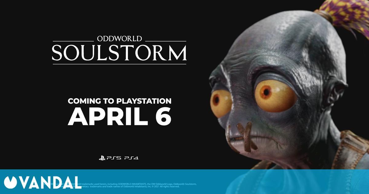 Oddworld: Soulstorm se lanza el 6 de abril y debutará en PS Plus de PS5