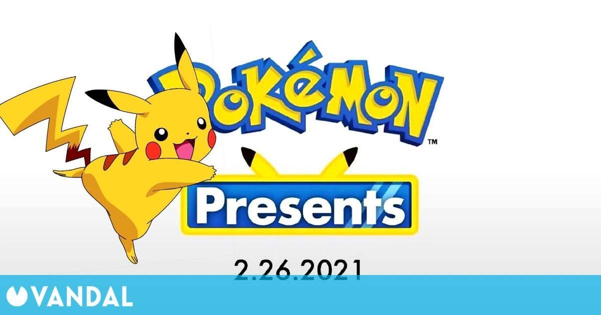 Presentación del nuevo Pokémon hoy a las 16:00h – Retransmisión en DIRECTO