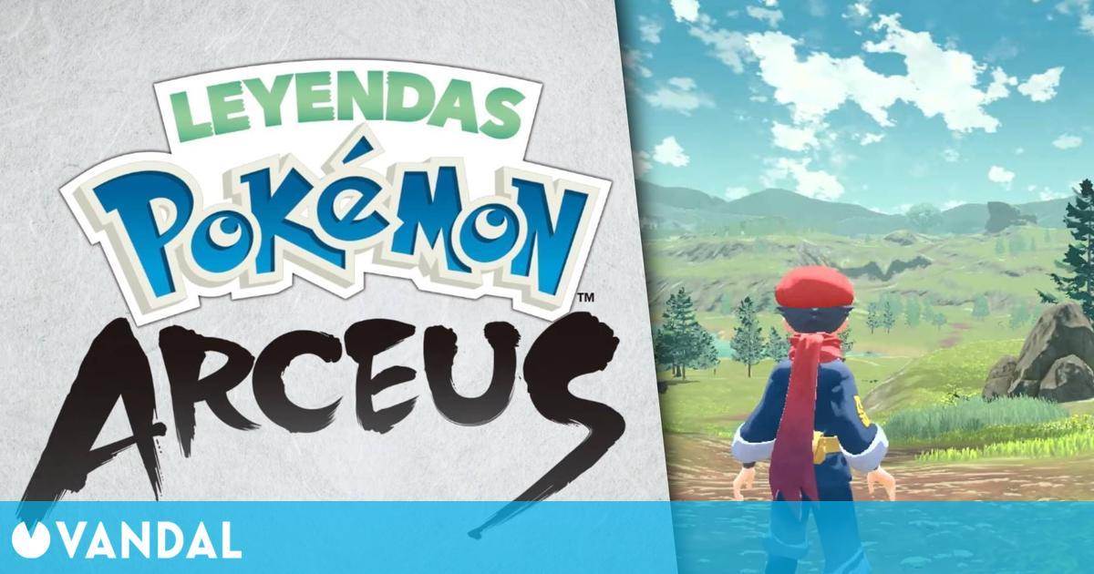 Leyendas Pokémon: Arceus, un nuevo juego de Pokémon en mundo abierto que se lanzará en 2022